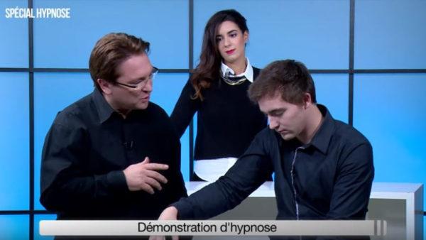 TV : Démonstration Hypnose Ericksonienne